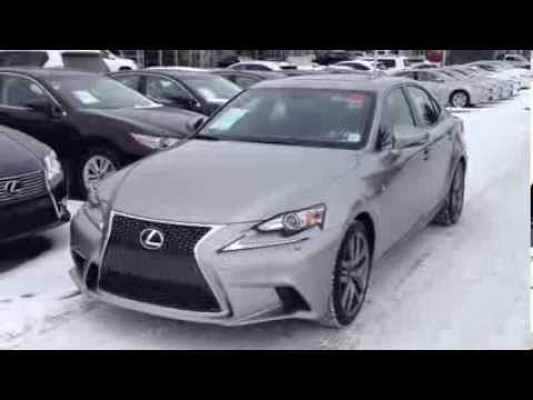 2014 Lexus IS 250 AWD Atomic Silver F Sport Premium Package Review
