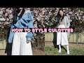 How To Style 5 Ways | CULOTTES + Styling Tips