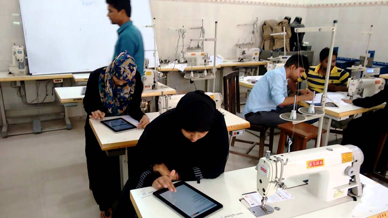 sewing machine operator assessment under pmkvy by aadit