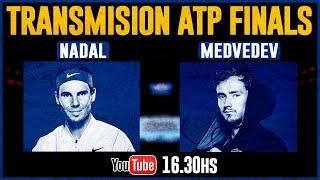 Nadal vs Medvedev  - ATP Finals Masters de Londres / Reaccionando en VIVO ?