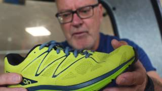 Salomon Sonic - The Anatomy of a Running Shoe