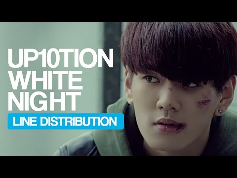 UP10TION - White Night Line Distribution...