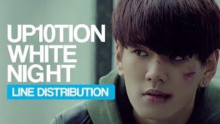 Video UP10TION - White Night Line Distribution (Color Coded) download MP3, 3GP, MP4, WEBM, AVI, FLV Januari 2018