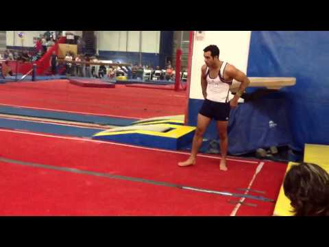 Danell Leyva New Floor Routine