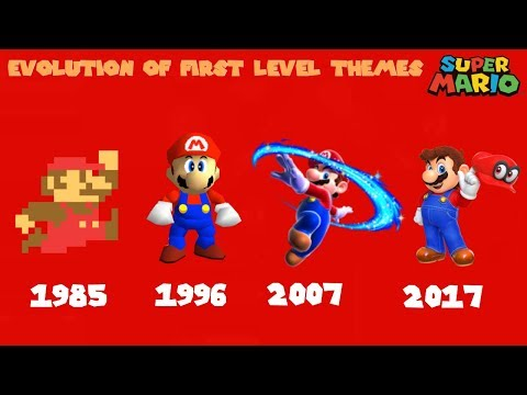 Evolution of First Level Themes 19852017 Super Mario