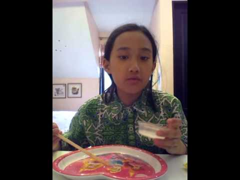 DIY super easy make slime made in Indonesia
