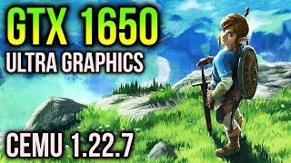 Zelda Breath of the Wild on GTX 1650 | 1440p in a budget GPU?
