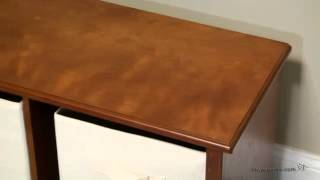 Classic Playtime Storage Bench - Walnut - Product Review Video
