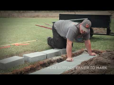 Retaining Wall Base and Block Leveling Techniques Segment 3