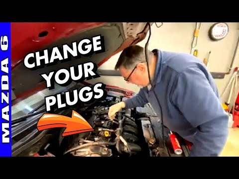 How To Replace Spark Plugs 2014-2017 Mazda 6 2.5