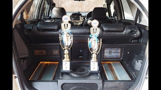 Honda Jazz GE8 Juara 1 Sound Quality I-Can Kelas Professional 3way 240jt by Cliport-Audio