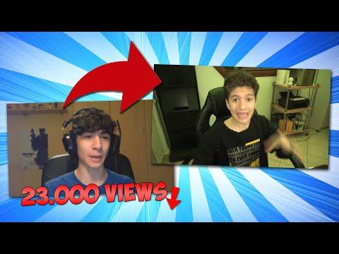 Copio i video MENO popolari Degli YouTubers!