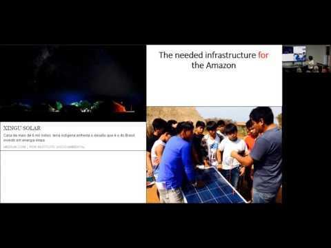 Infrastructure in or for the Amazon?  Ana Cristina Barros, TNC, 30 November 2016