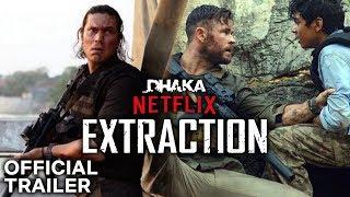 Extraction Netflix Movie Official Trailer Review 2020 Chris Hemsworth Randeep Hooda Youtube