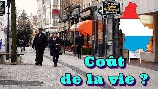 Le coût de la vie au LUXEMBOURG