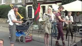 Perhaps Contraption - Odessa Bulgar - Live Mayton Street Festival London 2012