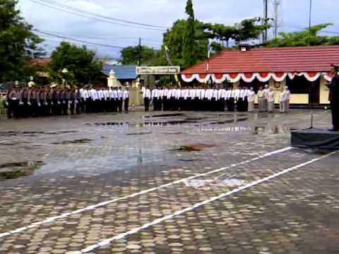 HUT Bhayangkara ke - 68 Polres Barito Kuala