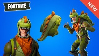 THE PROCHAINS SKINS ON FORTNITE (DINOSAURE)