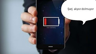 Telefon şarj alıyor batarya dolmuyor telefon çalışmıyor