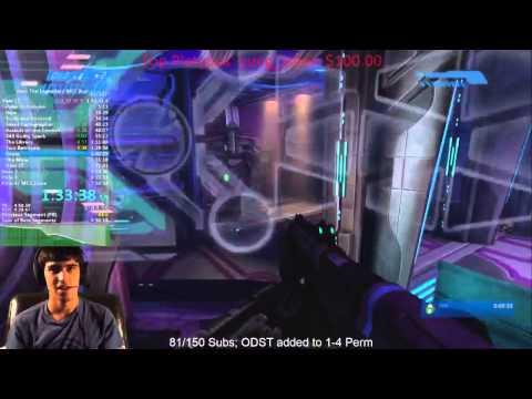 Halo 1-4 Legendary Speedrun 7:44:21 + ODST Legendary Race