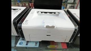 Budget Black Laser Printer Ricoh SP 210 Review