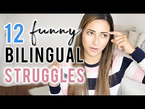12 STRUGGLES OF BEING BILINGUAL  Funny Things Bilingual People Do  Ysis Lorenna