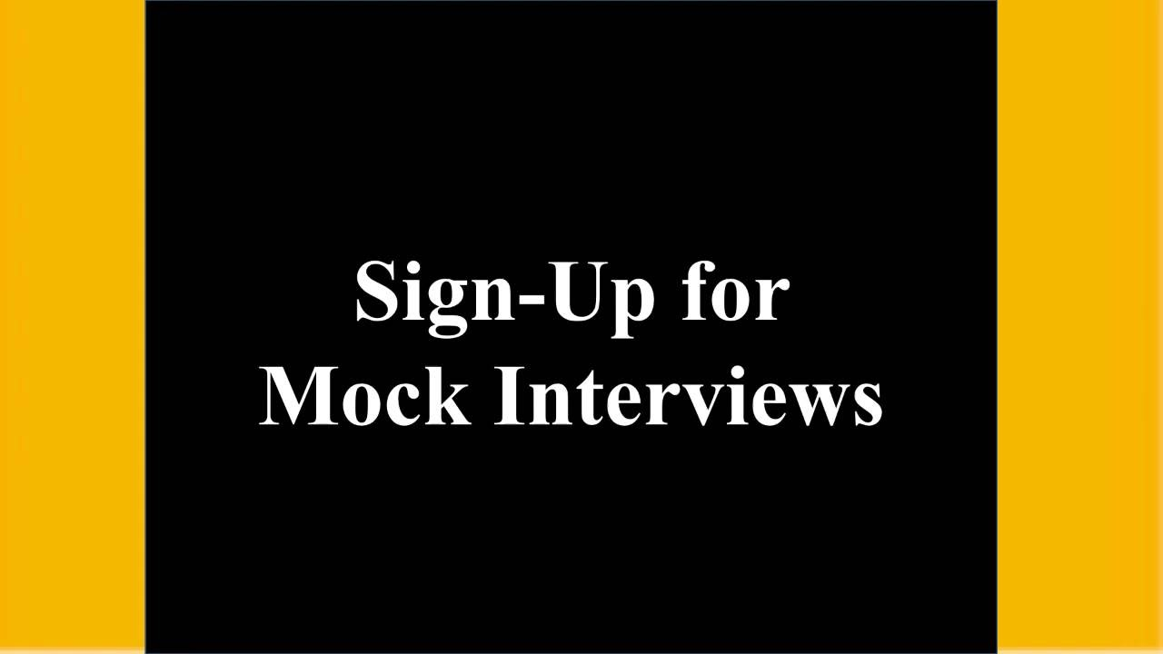 mock interview mock interview