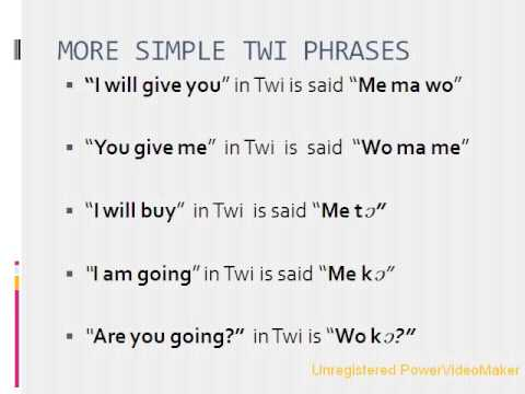 LEARN TWI PHONETICS MADE EASY