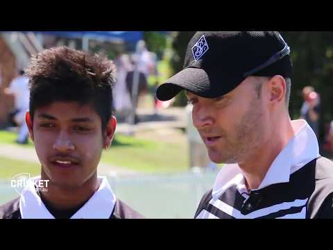Sandeep Lamichhane and Michael Clarke addressing the Media [EXCLUSIVE]