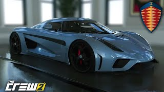 THE CREW 2 - Koenigsegg Regera CUSTOM & TEST