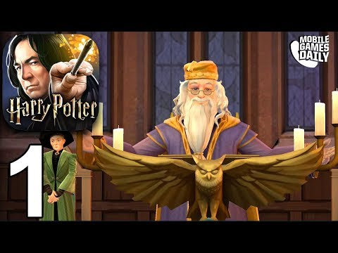 Harry Potter: Hogwarts Mystery -  Year 1 Chapters 1 + 2 - Gameplay Walkthrough Part 1 (iOS Android)