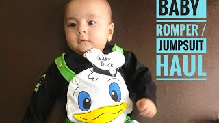 Baby Rompers / Jumpsuits Haul | 3 To 6 Month Fashion LookBook
