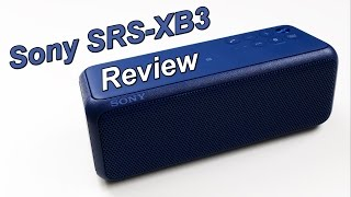 Sony SRS-XB3 Review
