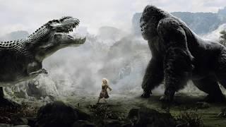 KONG vs AIRPLANES -  Final Battle Scene - King Kong 2005 Movie CLIP HD