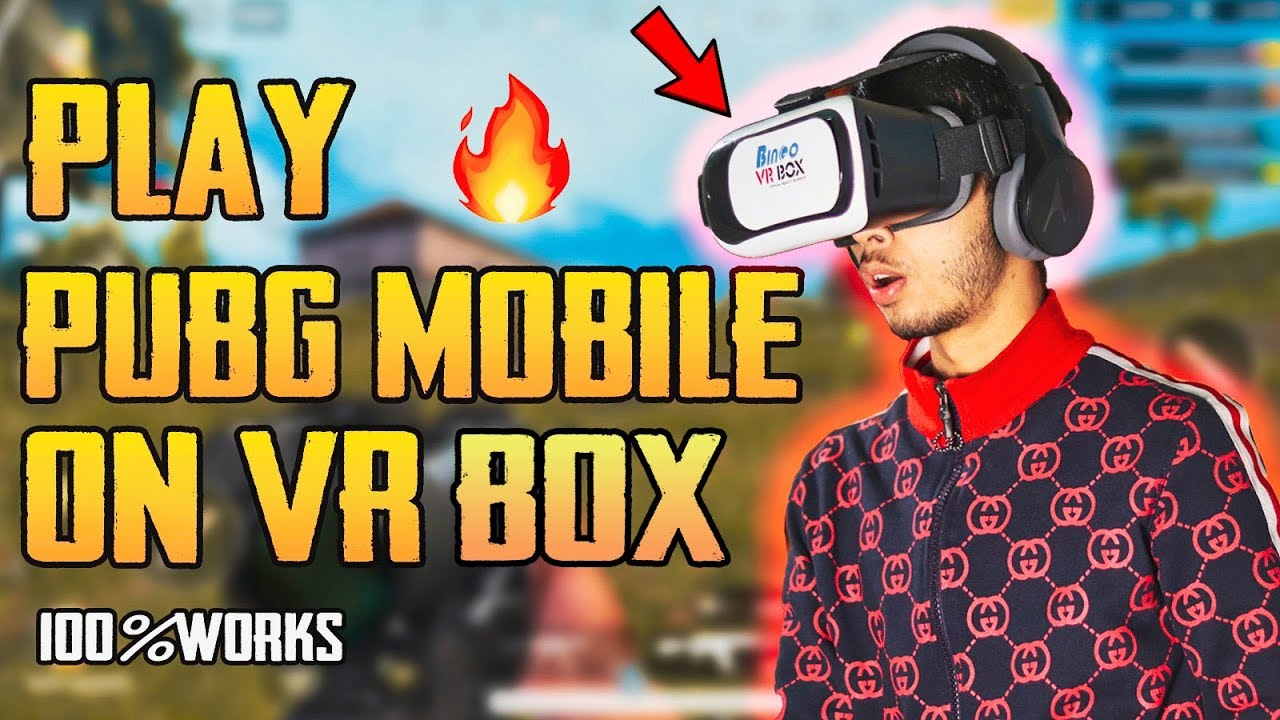 How To Play PUBG MOBILE ON VR | (Hindi)