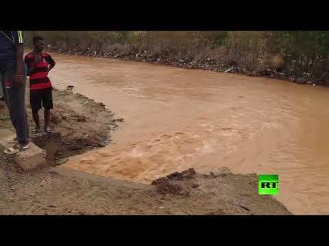 ارتفاع مناسيب النيل والمياه تغمر أحياء كاملة في الخرطوم  - نشر قبل 22 ساعة