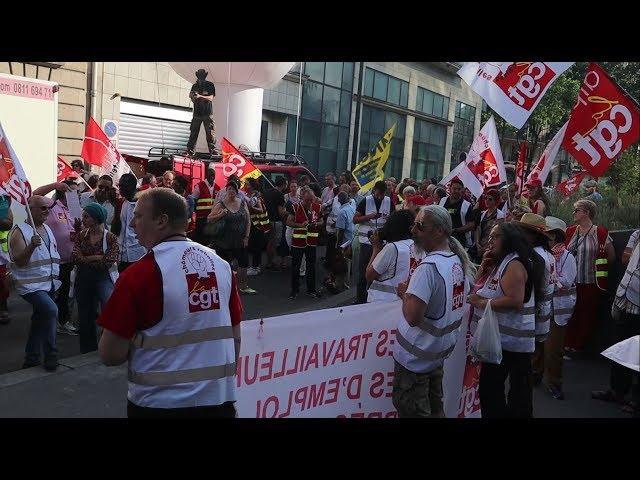 Action devant l'UNEDIC contre la réforme de l'assurance chômage