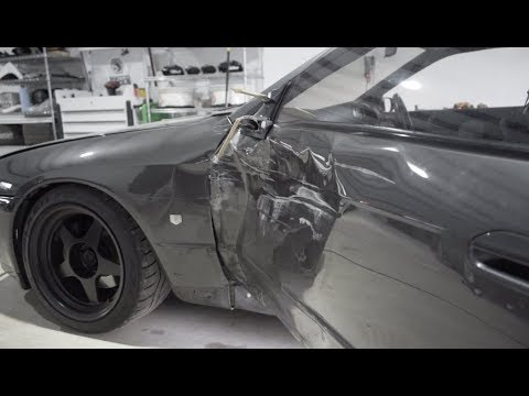 R32 GTR CRASH UPDATE!!(INSURANCE CAME)
