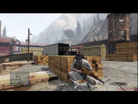 GTA V Online Heist Mission 4 Series A Funding Part 4 Series A - Weed