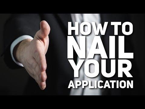 How to Nail a Job, Internship, or Program Application