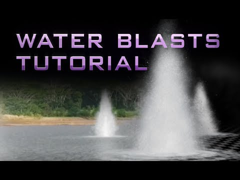 Composite Water Blasts: (Free Assets - 100% After Effects)