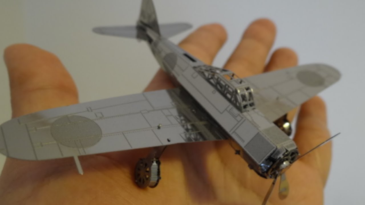 What A Cool Toy Metal Earth Airplane Modeling Zero