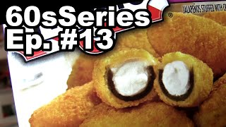 32 Jalapeño Poppers Eaten in 60 Seconds (Episode #13)