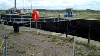 THE LOCKS AT WYRE DOCK