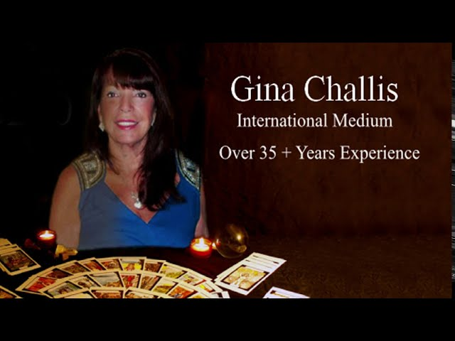 Readings by GINA CHALLIS - International Medium