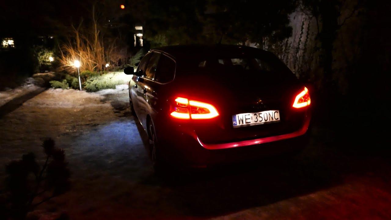 Peugeot 308 SW [Nocny Test] 1.6 BlueHDi TEST DRIVE [Jazda Próbna] Testowa PL