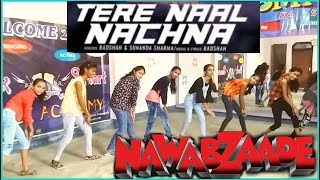 Tere Naal Nachna Badshah Dance Video | Nawabzaade | Dance Choreography