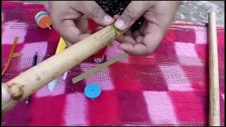 Tutorial cara buat seruling bambu
