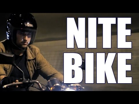 """NITEBIKE"" - Los Angeles VFX scene test"