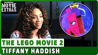 "THE LEGO MOVIE 2 | On-studio Interview with Tiffany Haddish ""Queen Watevra Wa'Nabi"""